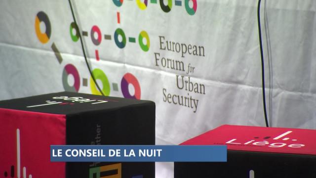 Liège : le conseil communal de la nuit est en place