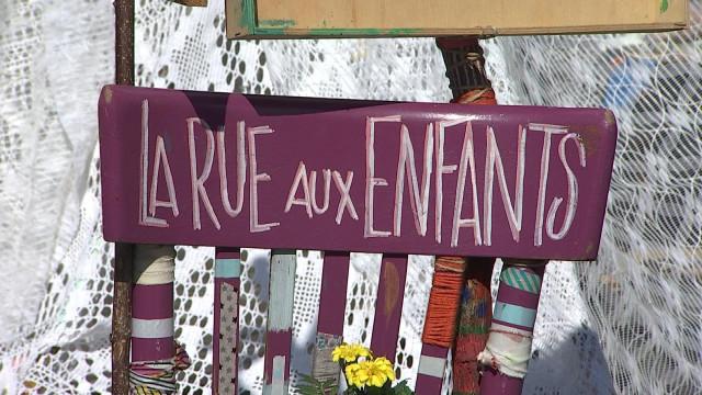En Neuvice : la rue offerte aux familles et aux enfants