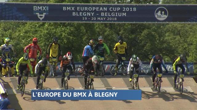 Le Championnat d'Europe de BMX à Blegny