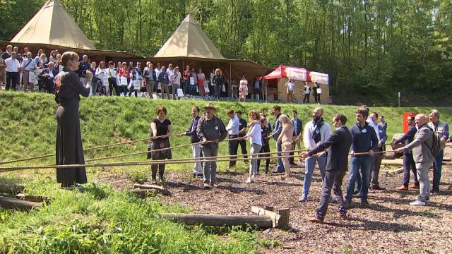 Les professionnels du tourisme réunis au Préhistomuseum