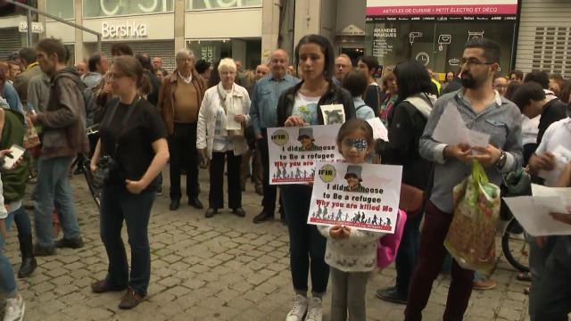 Mawda : 400 personnes manifestent à Liège