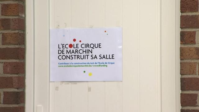 Un nouveau bâtiment pour l'école de cirque de Marchin