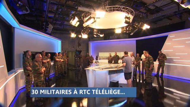 30 militaires à RTC Téléliège