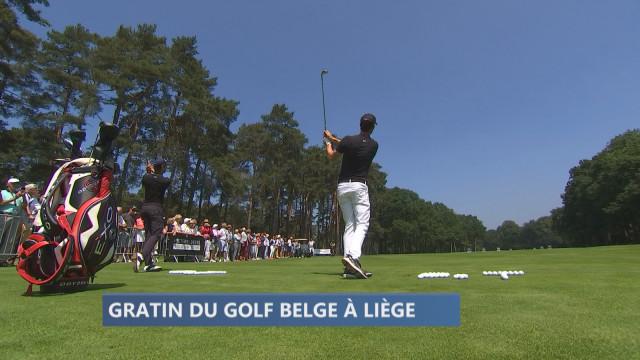 L'élite du golf belge en démonstration au Sart Tilman