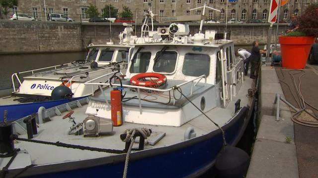 A vendre : bateau de la police fédérale !