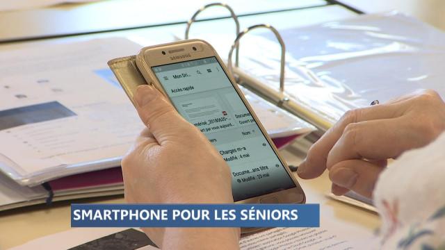 Le smartphone n'a plus de secret pour les seniors