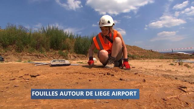 Un village préhistorique autour de Liege Airport