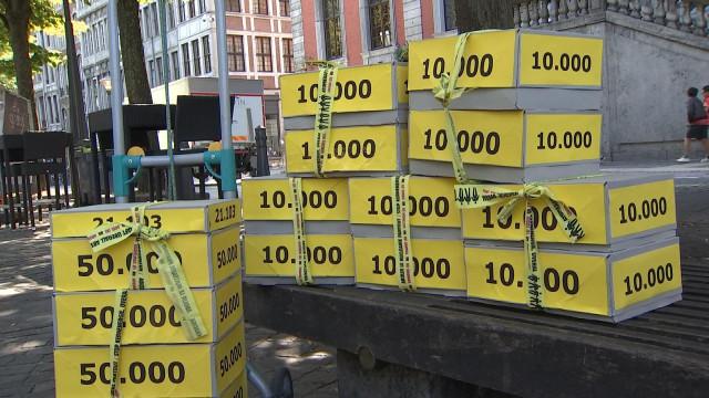 100 000 signatures contre le nucléaire en région liégeoise