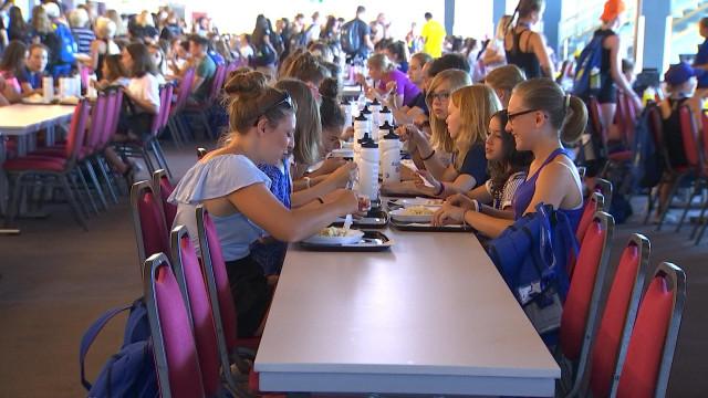 Eurogym 2018: plus de 20.000 repas en 5 jours !