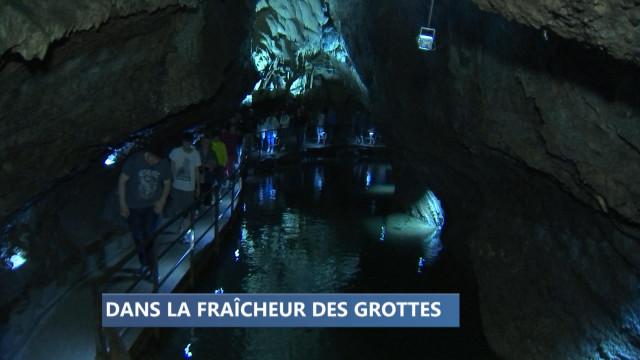 Bon plan fraîcheur: se réfugier dans une grotte