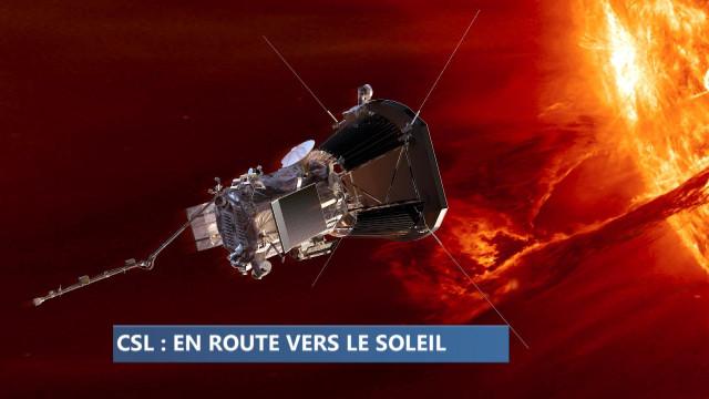 Le centre spatial de Liège en route vers le soleil