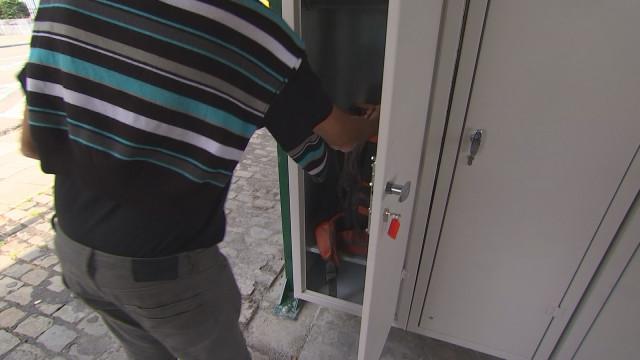 Des casiers pour les sans-abris à Liège