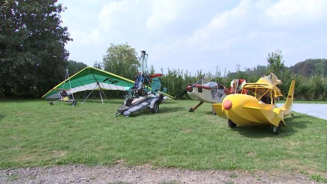 Corswarem: rencontre avec un passionné de machines volantes