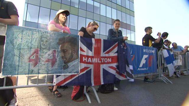 Tour de chauffe des fans de F1 à Bierset