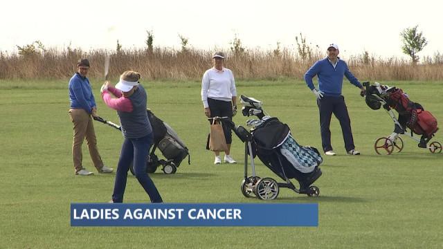 Golfeuses et personnalités contre le cancer du sein