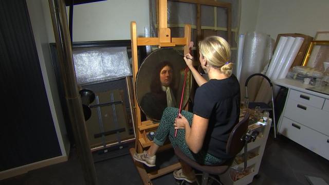 Visite insolite: L'atelier de restauration des Musées de Liège
