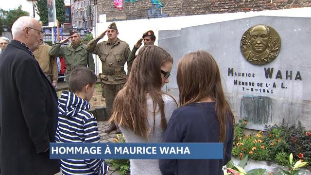 Hommage à Maurice Waha