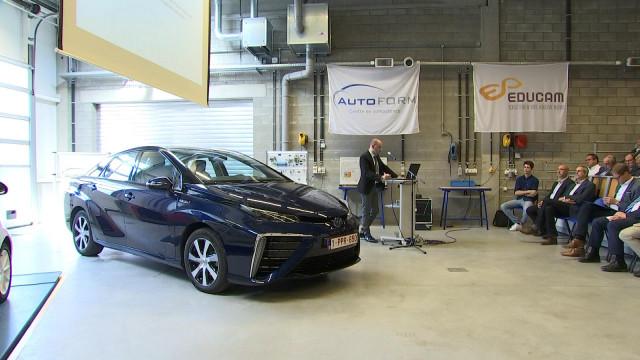 Liège : des formations pour réparer les voitures de demain