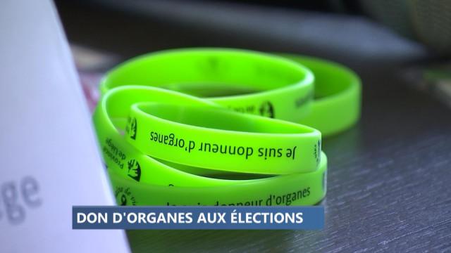 Les électeurs invités à devenir donneur d'organes lors des élections communales
