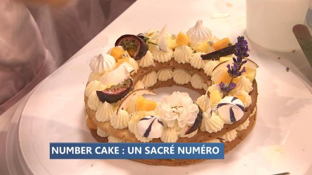 Atelier number cake à Creativa
