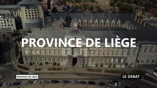 Débat Province 2018 : Province de Liège