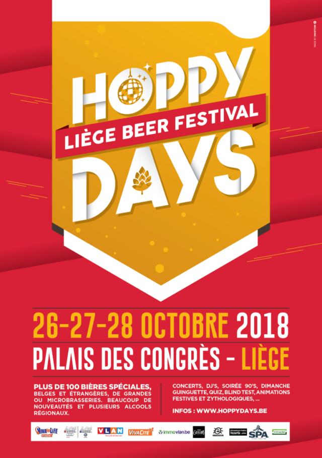 Hoppy Days, le festival liégeois de bières