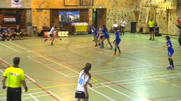 Replay : Handball: Holon - Fémina Visé