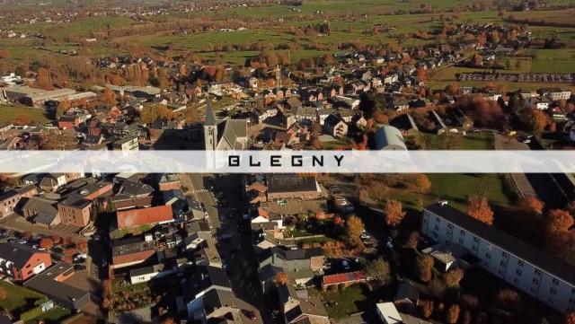 Vu Du Ciel : Blegny