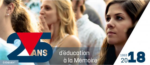 """L'ASBL """"Territoires de la Mémoire"""" fête ses 25 ans"""