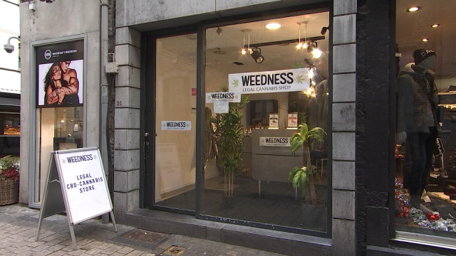 Un commerce de cannabis légal s'implante à Liège