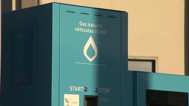 Seraing: première pompe GNC en province de Liège
