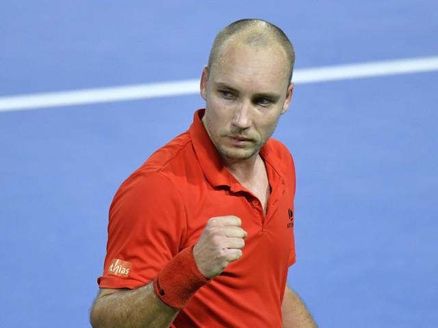 Pour son retour, Steve Darcis écrit l'histoire de l'ATP !