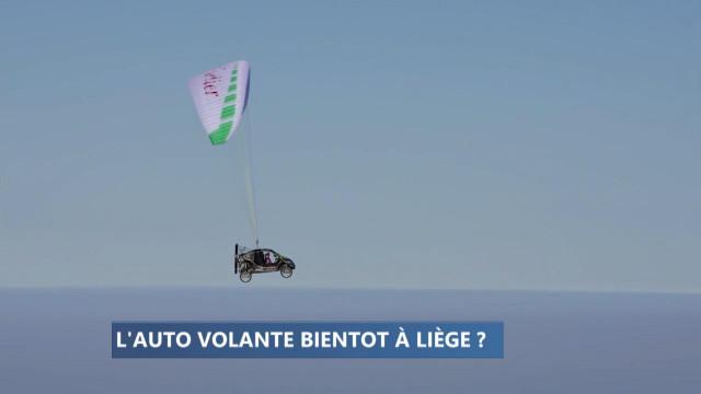 La voiture volante bientôt sous des cieux liégeois ?