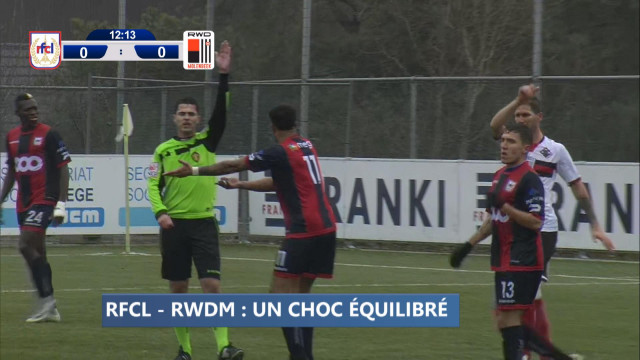 Zapping sports: il n'a manqué qu'un but au RFCL