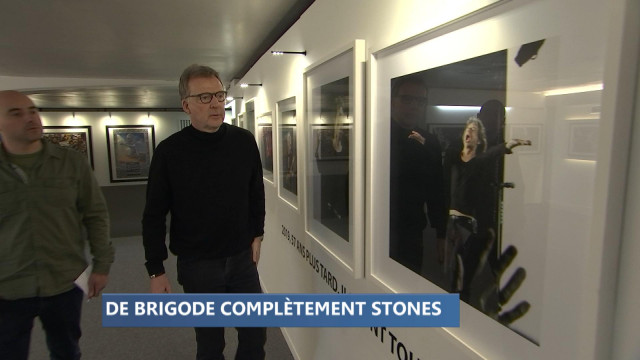 Les Stones à travers l'objectif de François De Brigode