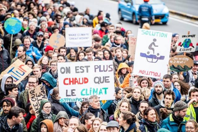 Jeudi 31 janvier : les jeunes LIégeois vont marcher pour le climat