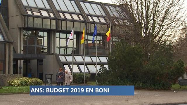 Ans : un budget  2019 en boni