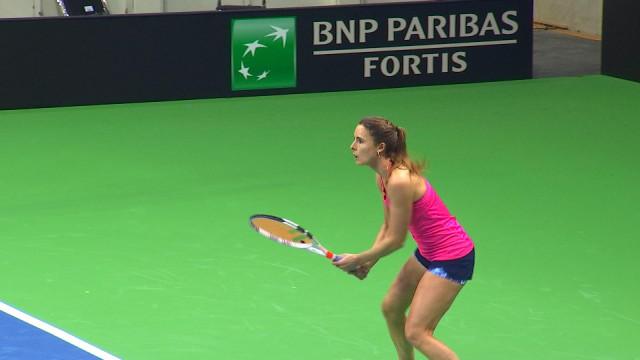 Fed Cup: les adversaires françaises