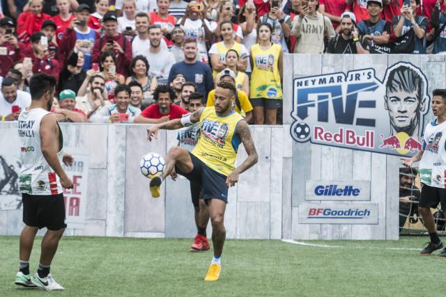 Le Red Bull Neymar Jr's Five ce dimanche 24 février à Liège