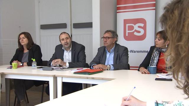 Elections : Collignon emmène le PS aux régionales