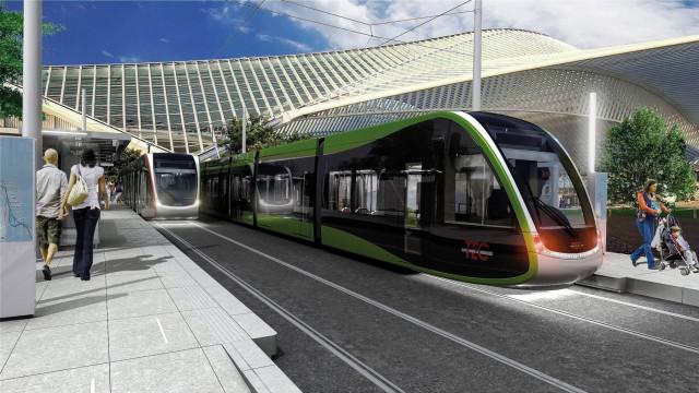 Motion contre la privatisation du tram à Liège