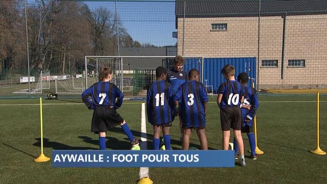 Aywaille: l'intégration de jeunes réfugiés par le football