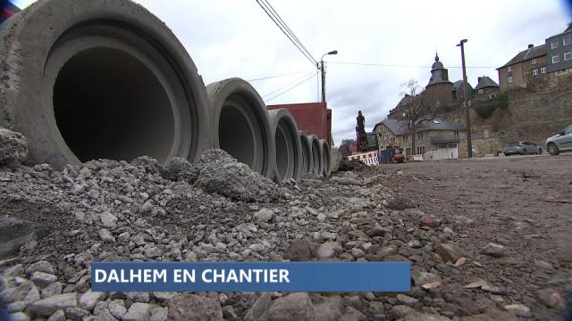 Dalhem : le long chantier qui fait mal aux commerçants