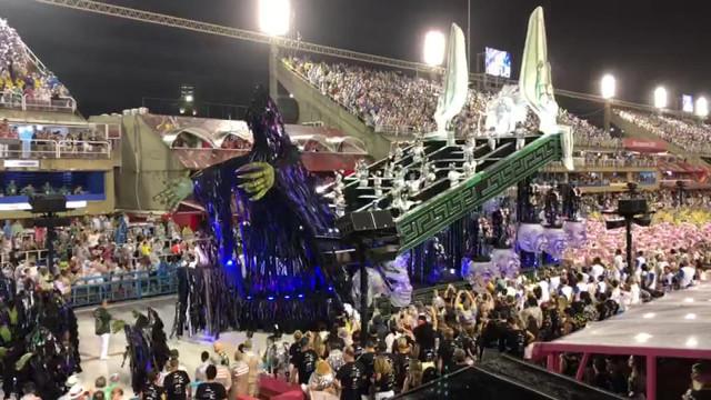 Un Liégeois au carnaval de Rio