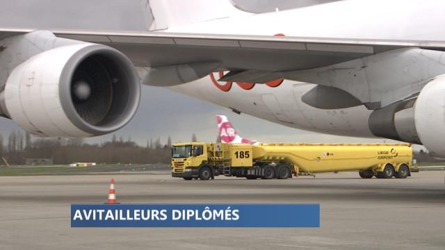 Liège Airport : formation gagnante pour les avitailleurs