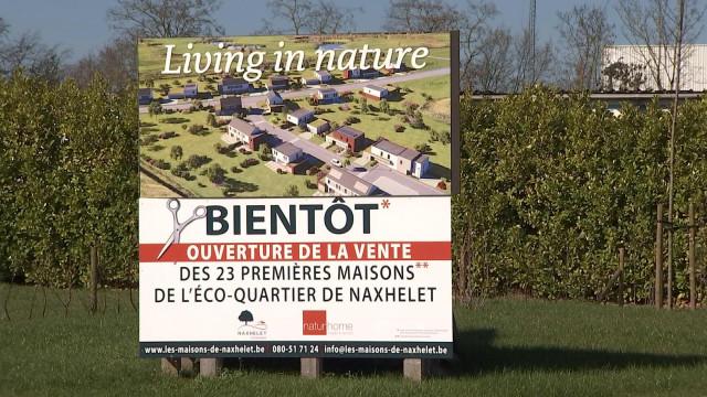 Wanze: l'éco-village de Naxhelet est sur les rails