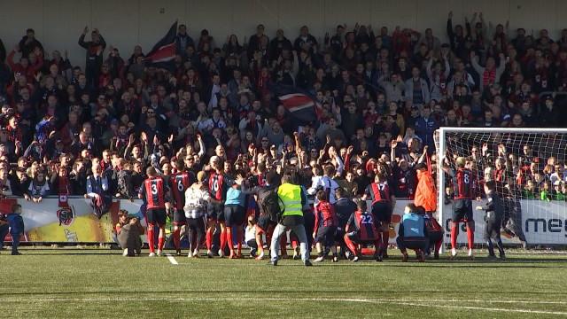 Le RFC Liège à la fête dans le zapping sports!