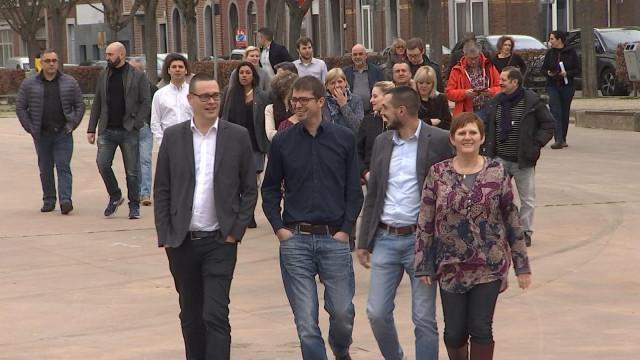 PTB : Raoul Hedebouw et Alice Bernard mènent les troupes