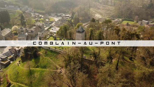 Vu du Ciel : Comblain-au-Pont