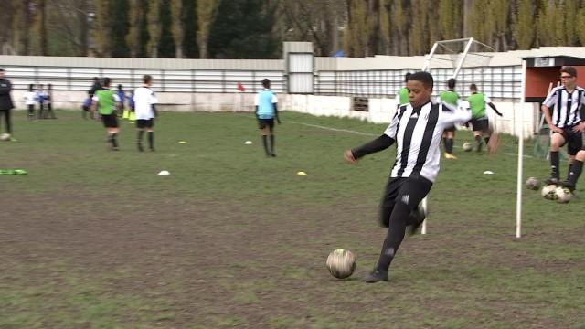 Premier stage dans la nouvelle Juventus Academy